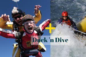 Raft Sky Dive