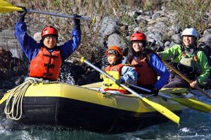 Taupo Family Rafting