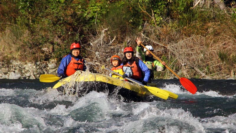 Tongariro Family Rafting