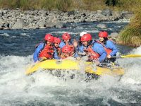 Family White Water Rafting Tongario