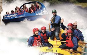 Jet Boat and Raft Combo in Taupo