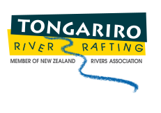 Tongariro River Rafting Logo
