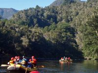 Overnight River Rafting Groups on the Tongariro