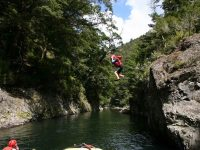 Exciting Cliff Jumping