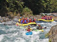 Tongariro Grade 4 Rafting Action