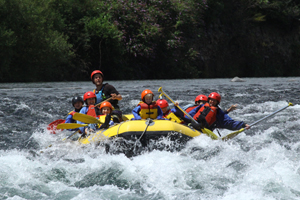 Family Rafting on the Tongariro River