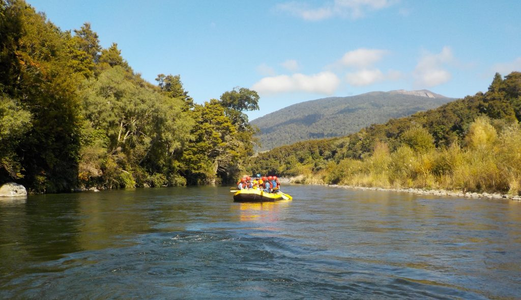 Grade 1 Rafting on the Tongariro