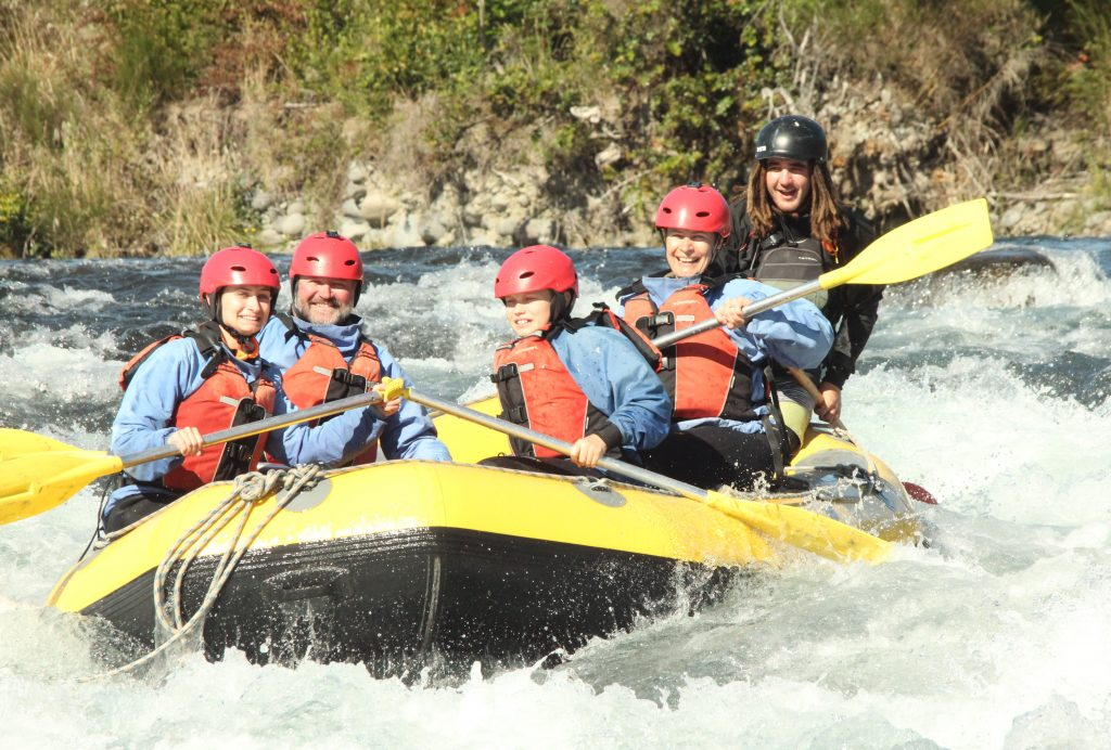 Grade 2 Rafting on the Tongariro