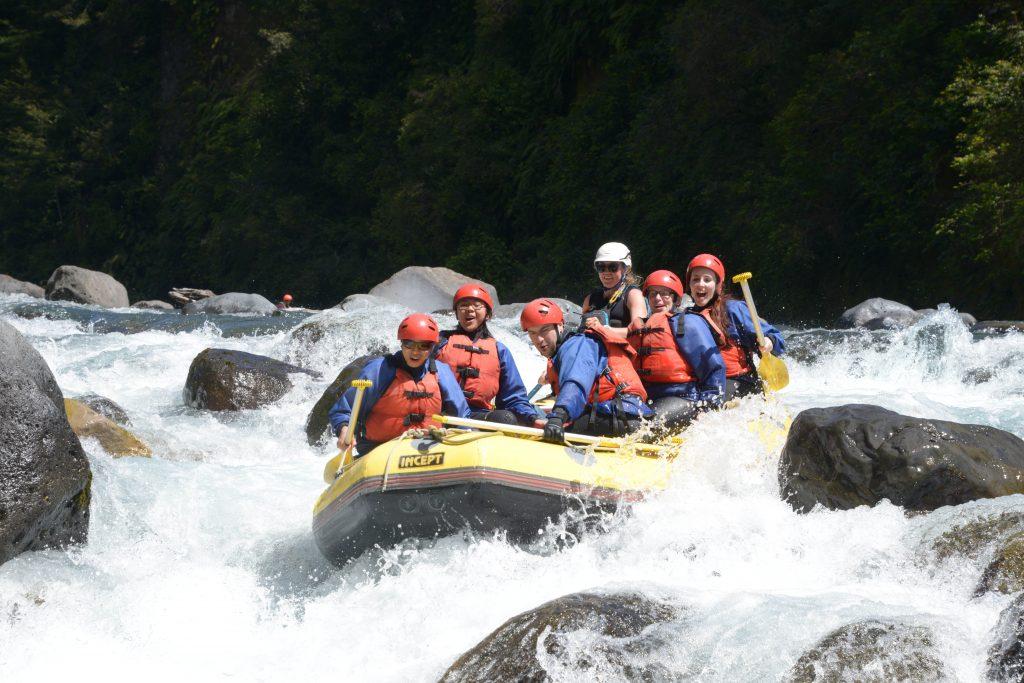 Grade 3 Rafting on the Tongariro