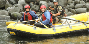 Rafting in Nature