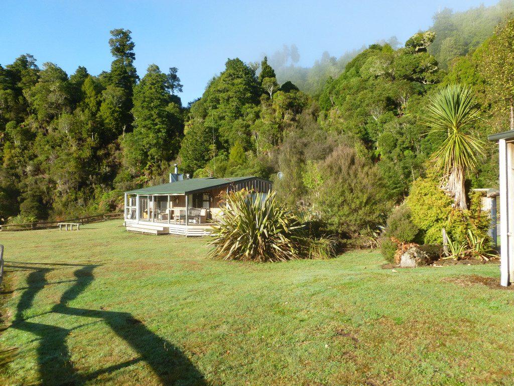 External view of Waipari Lodge